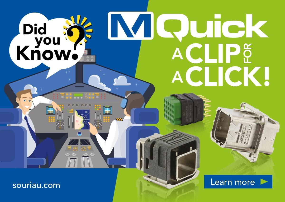 MQuick series - Rectangular modular connectors